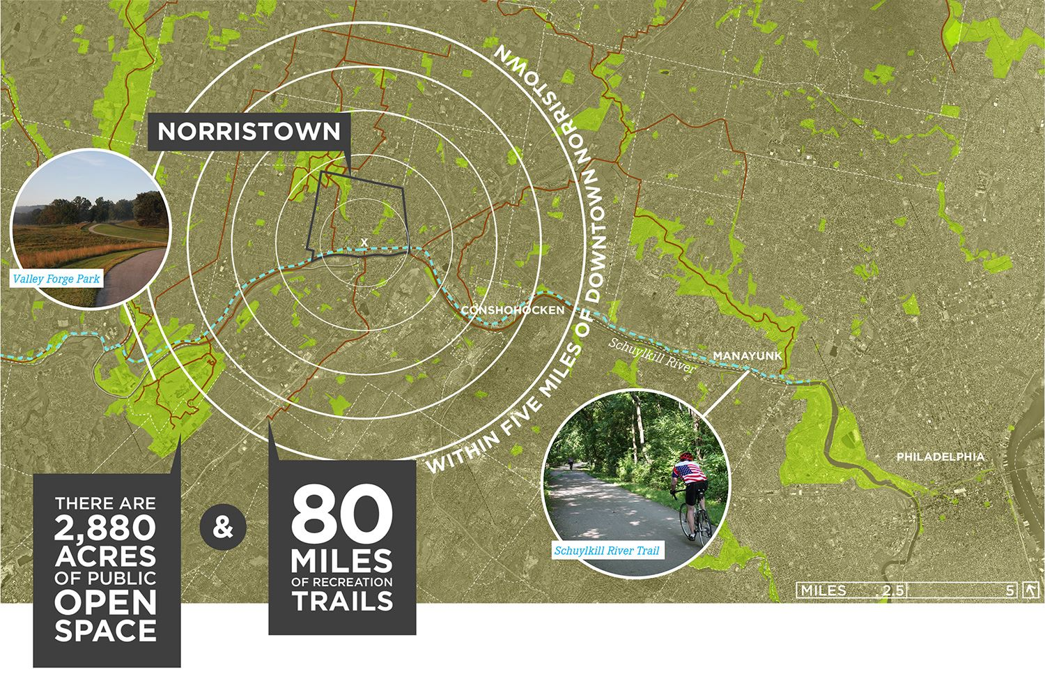 Norristown Outdoors Map