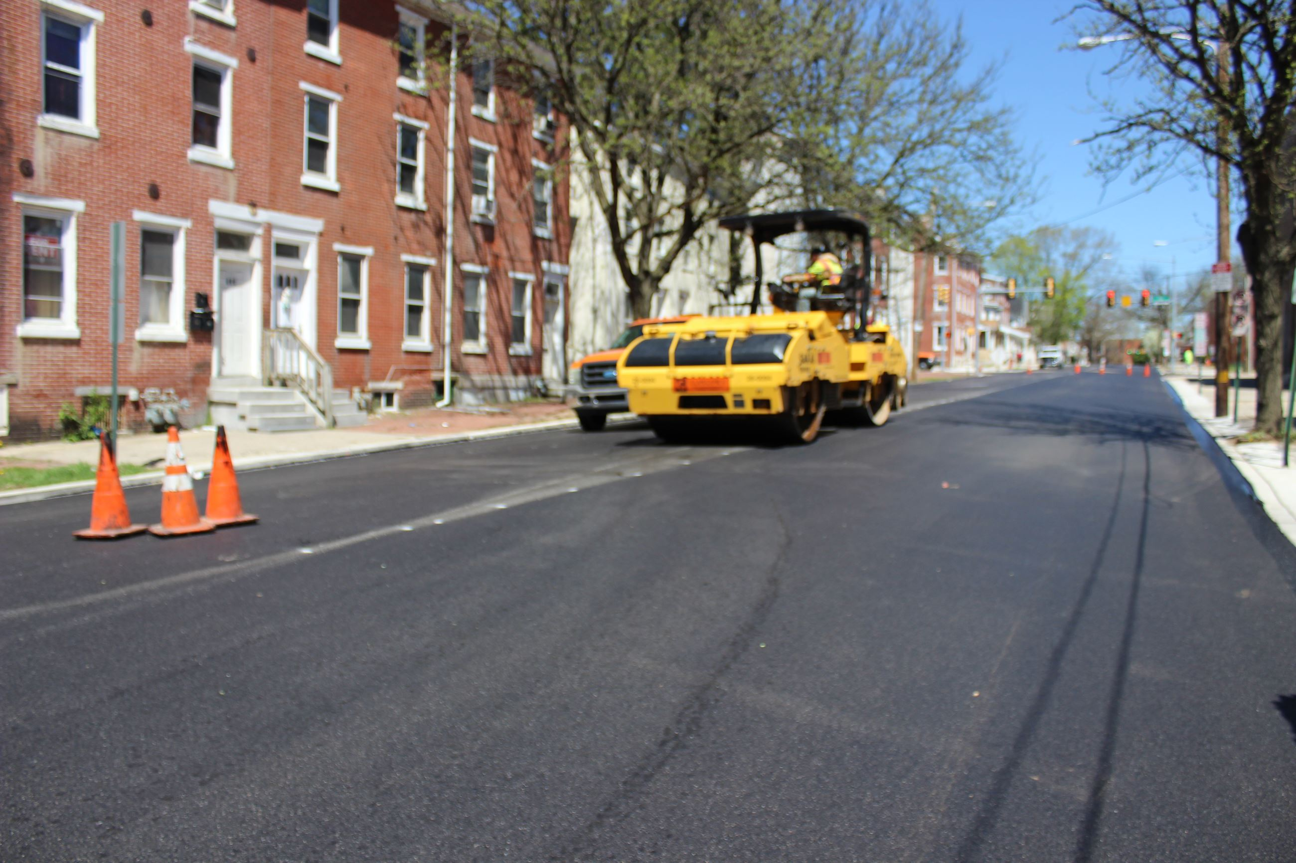 Swede Street repaving project