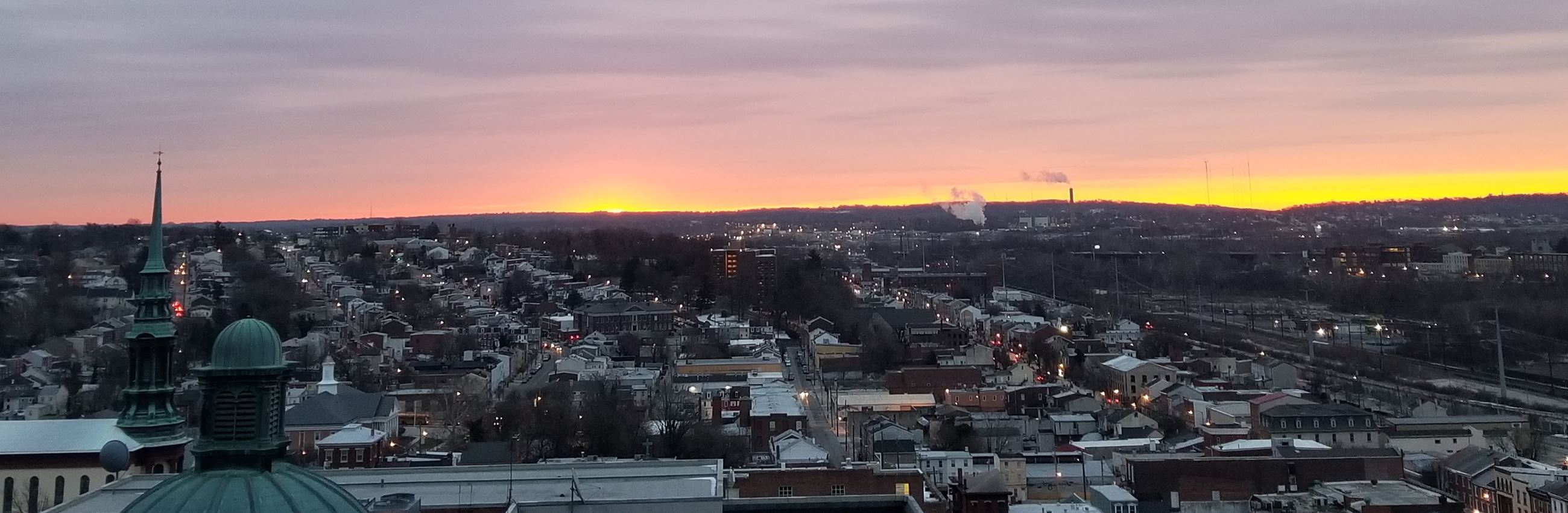 Sun Rise over Norristown