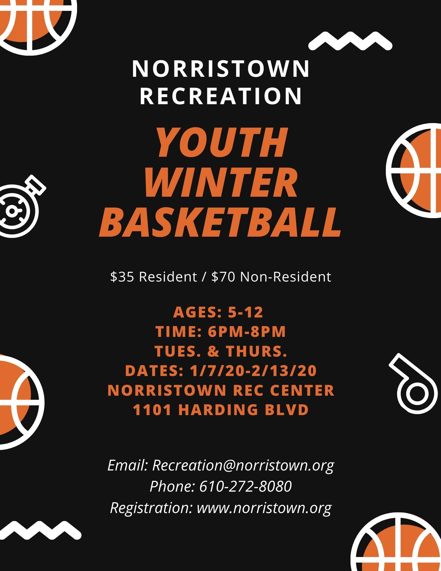 Norristown Rec Winter Bball 2020
