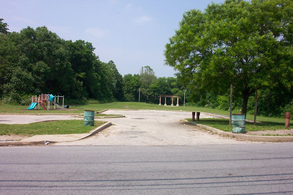 Martin Luther King Park - Before