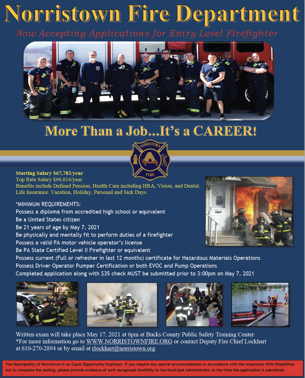 NFD Recruitment Flyer