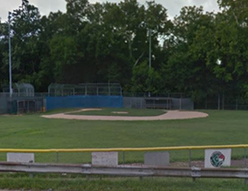 Baseball Field With Woods Behind