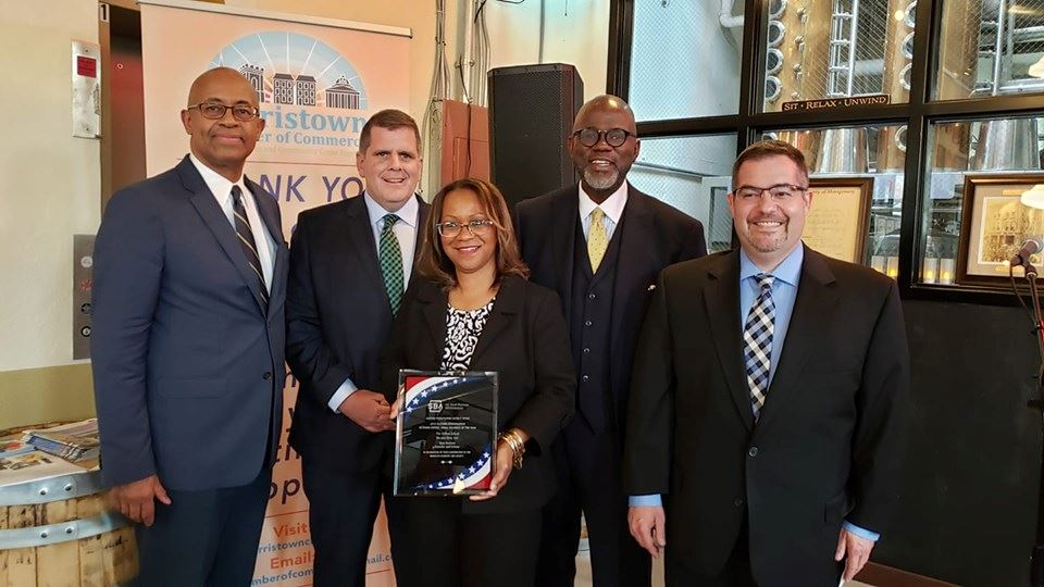 Norristown Chamber of Commerce SBA Business of the year